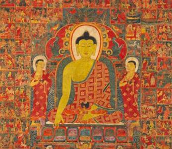 thangka orientali e tibetani