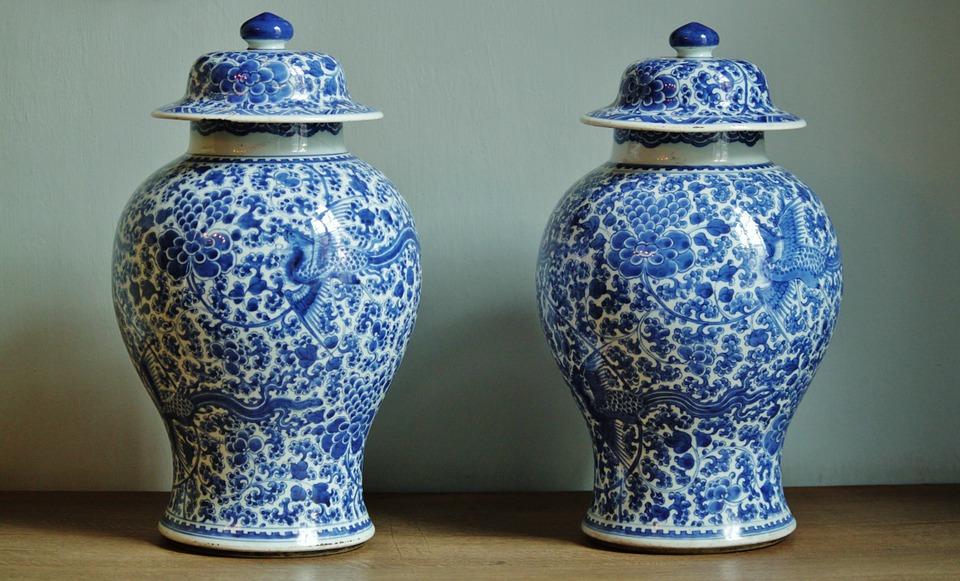 Vasi Ming Porcellana Cinese