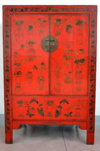 armadio orientale cinese
